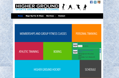 Higher Ground Sports and Fitness